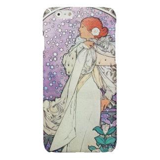 Alphonse Mucha La Dame Aux Camelias Art Nouveau Glossy iPhone 6 Case