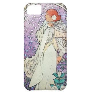 Alphonse Mucha La Dame Aux Camelias iPhone 5 Case