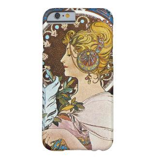 Alphonse Mucha La Plume Quill Pen Art Nouveau Barely There iPhone 6 Case