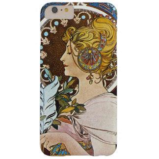 Alphonse Mucha La Plume Quill Pen Art Nouveau Barely There iPhone 6 Plus Case