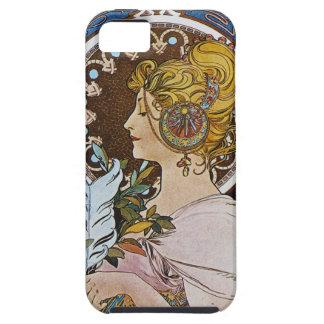 Alphonse Mucha. La Plume/The Pen, 1899 iPhone 5 Cases