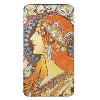 Alphonse Mucha La Plume Zodiac Art Nouveau Vintage Galaxy S5 Pouch