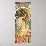 "Alphonse Mucha. La Primevere/Polyanthus, 1899 Poster<br><div class=""desc"">Alphonse Mucha. La Primevere/Polyanthus,  1899.</div>"