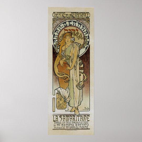 Alphonse Mucha ~ La Samaritaine Poster