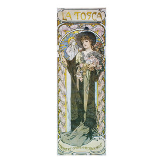 Alphonse Mucha. La Tosca, 1899 Poster