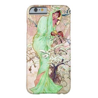 Alphonse Mucha Lady In Green Cape iPhone 6 Case