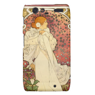 Alphonse Mucha Lady of the Camelias Droid Case Droid RAZR Cover
