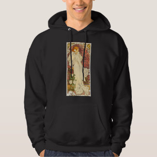 Alphonse Mucha Lady of the Camelias Hoodie