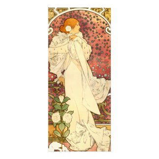Alphonse Mucha Lady of the Camelias Invitations