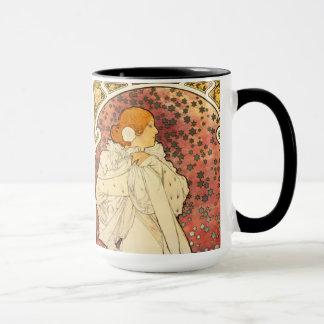 Alphonse Mucha Lady of the Camelias Mug