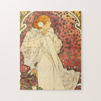 Alphonse Mucha Lady of the Camelias Puzzle