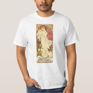 Alphonse Mucha Lady of the Camelias T-shirt