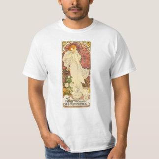 Alphonse Mucha Lady of the Camelias T-shirt