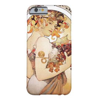 Alphonse Mucha Lady With Fruit iPhone 6 Case