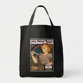 Alphonse Mucha- Lance Parfum Rodo - Perfume Ad Bag