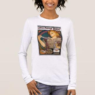 "Alphonse Mucha- Lance Parfum ""Rodo"" - Perfume Ad Long Sleeve T-Shirt"