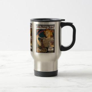 "Alphonse Mucha- Lance Parfum ""Rodo"" - Perfume Ad Coffee Mug"