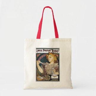 "Alphonse Mucha- Lance Parfum ""Rodo"" - Perfume Ad Tote Bag"