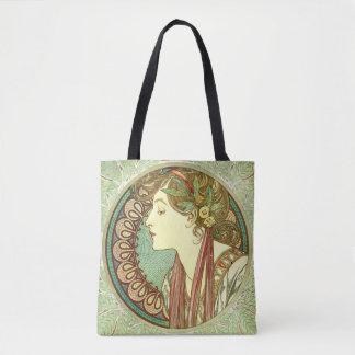 Alphonse Mucha Laurel GalleryHD Tote Bag