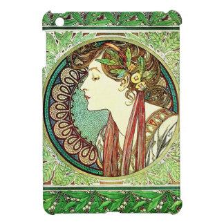 Alphonse Mucha Laurel iPad Mini Case