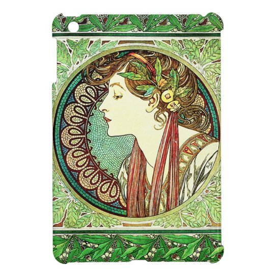 Alphonse Mucha Laurel iPad Mini Case