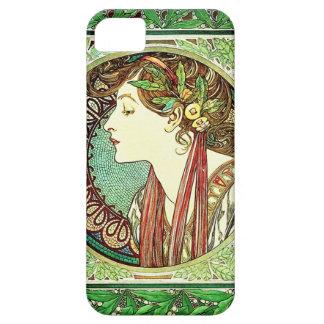 Alphonse Mucha Laurel iPhone 5 Case