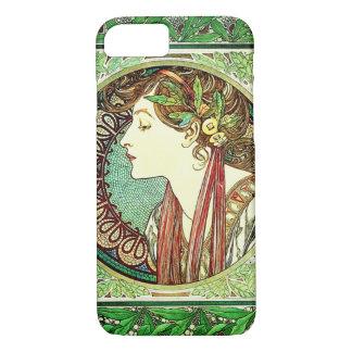 Alphonse Mucha Laurel iPhone 7 case