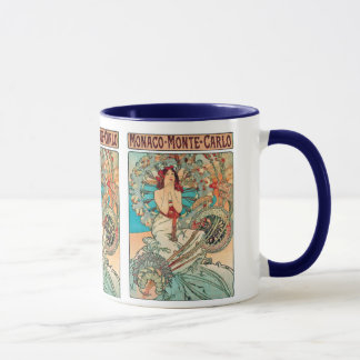 Alphonse Mucha Monaco, Monte-Carlo, 1897 Mug