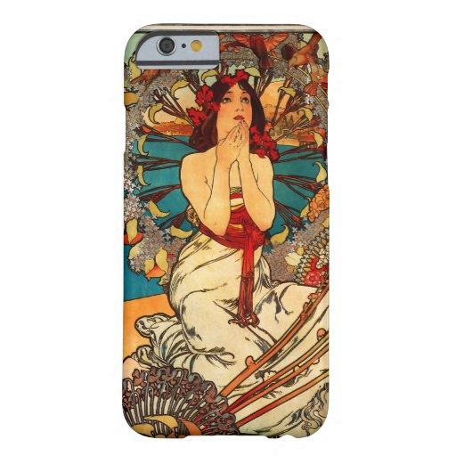Alphonse Mucha Monte Carlo iPhone 6 case
