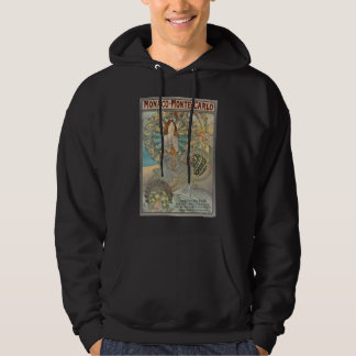 Alphonse Mucha Monte Carlo pull-over Hooded Pullover
