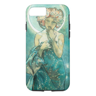Alphonse Mucha Moonlight Clair De Lune Art Nouveau iPhone 7 Case