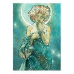 Alphonse Mucha Moonlight Clair De Lune Art Nouveau Large Business Cards (Pack Of 100)
