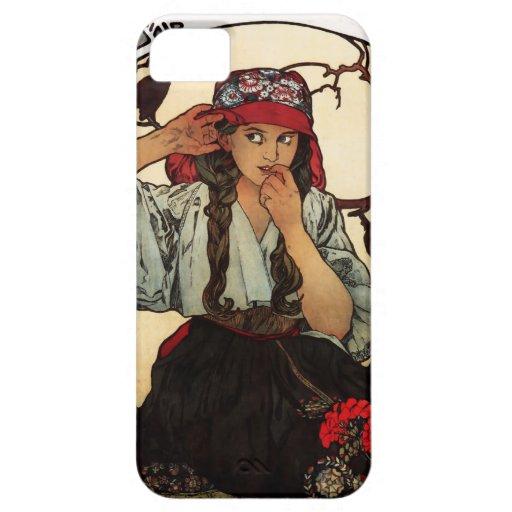 Alphonse Mucha Moravian iPhone 5 Case