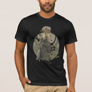 Alphonse Mucha - Morning Star Men's T-shirt