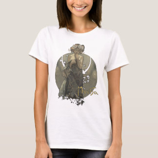 Alphonse Mucha - Morning star shirt