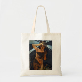 Alphonse Mucha Morning Star Tote Bag