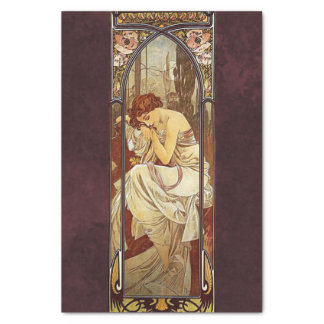 Alphonse Mucha, Night's Rest Tissue Paper