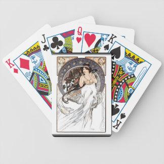 Alphonse Mucha  Playing Cards