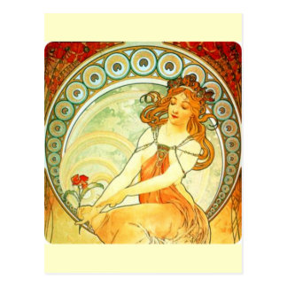 Alphonse Mucha Postcard