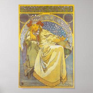 Alphonse Mucha - Princess Hyacint Print