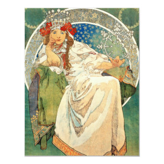Alphonse Mucha Princess Hyacinth Invitations