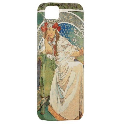 Alphonse Mucha Princess Hyacinth iPhone 5 Case
