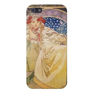 Alphonse Mucha. Princezna Hyacinta, 1911 Cover For iPhone SE/5/5s