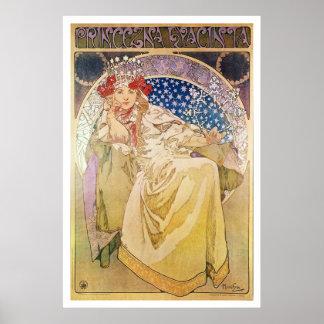 Alphonse Mucha. Princezna Hyacinta, 1911 Poster
