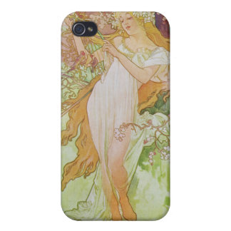 Alphonse Mucha. Printemps/Spring iPhone 4/4S Cover
