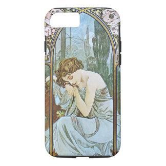 Alphonse Mucha. Repos De La Nuit/Nocturnal Slumber iPhone 8/7 Case