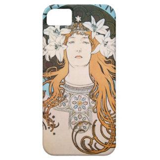 Alphonse Mucha Sarah Bernhardt art nouveau kind De iPhone 5 Covers