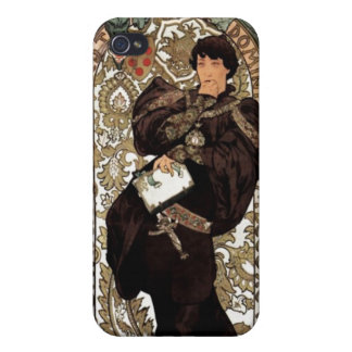 "Alphonse Mucha - Sarah Bernhardt ""Lorenzaccio"" Ca iPhone 4/4S Case"