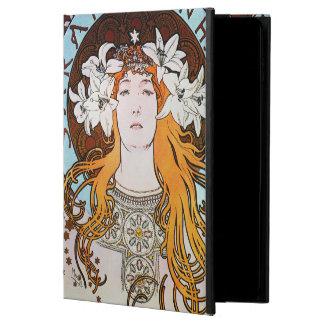 Alphonse Mucha Sarah Bernhardt Vintage Art Nouveau Powis iPad Air 2 Case