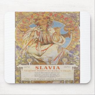 Alphonse Mucha - Slavia Mousepad